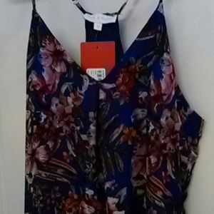 Midi Dress, size S, Mary & Mabel, colors blue/pink